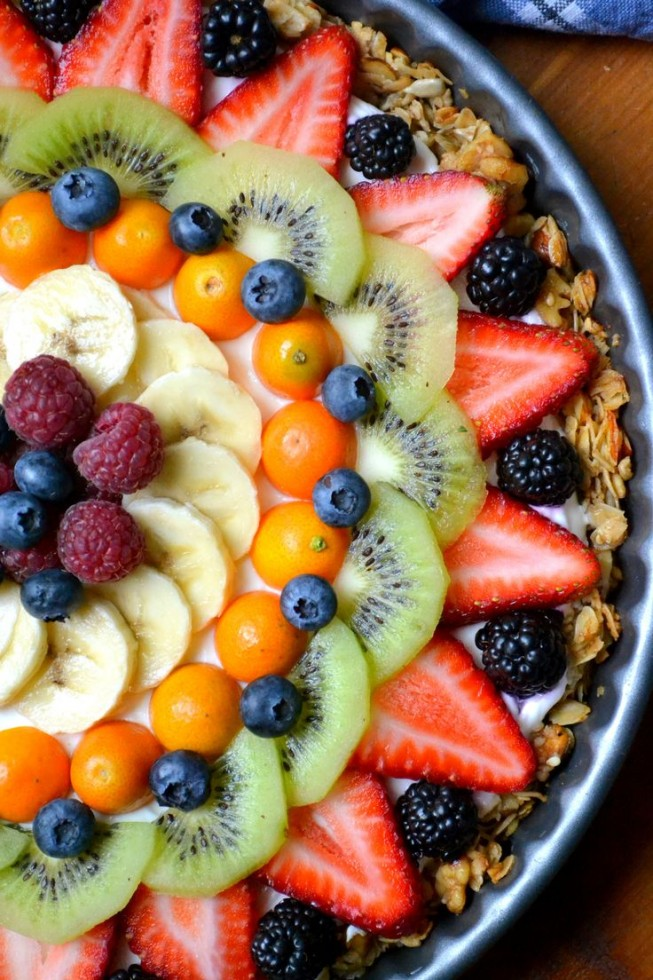 Beautiful Breakfast Tart - One of over 30 beautiful brunch recipes for Mother's Day, or any special occasion! The collection includes main dishes, appetizers, drinks, and desserts. | A Family Feast
