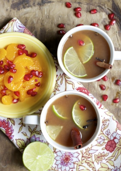 Fruit Spice Tea - One of over 30 beautiful brunch recipes for Mother's Day, or any special occasion! The collection includes main dishes, appetizers, drinks, and desserts. | A Family Feast