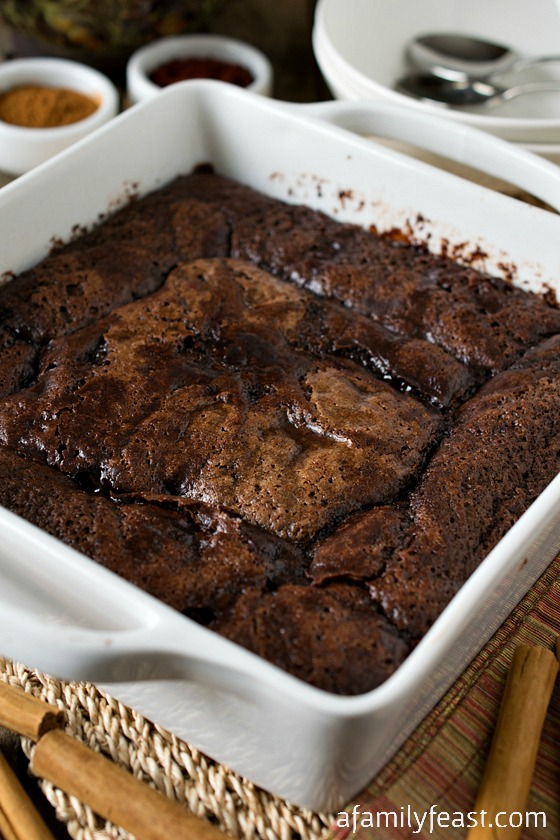 Mexican Hot Fudge Pudding Cake - A spiced up version of the classic ...