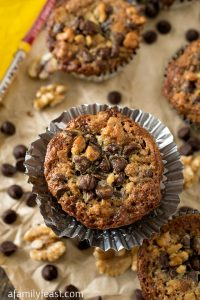 Toll House Chocolate Chip Cupcakes - A Family Feast
