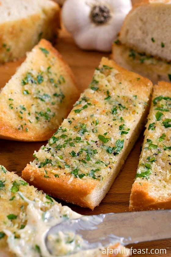 Garlic Bread - A Family Feast