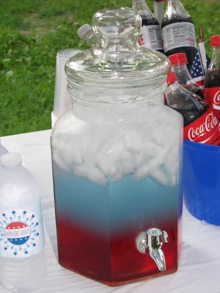 Independence Punch - 25+ Patriotic Recipes - A Family Feast