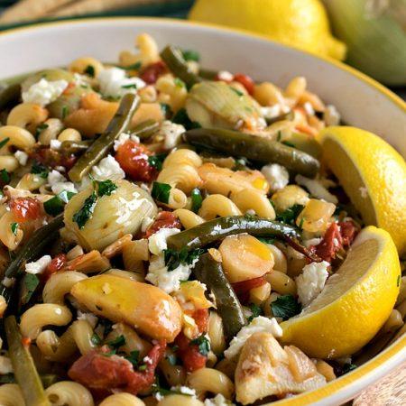 Mediterranean Pasta Primavera - A Family Feast