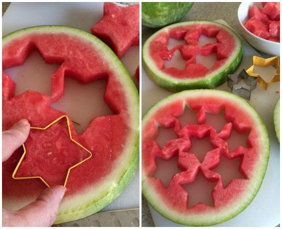 Star Spangled Fruit Salad - A Family Feast