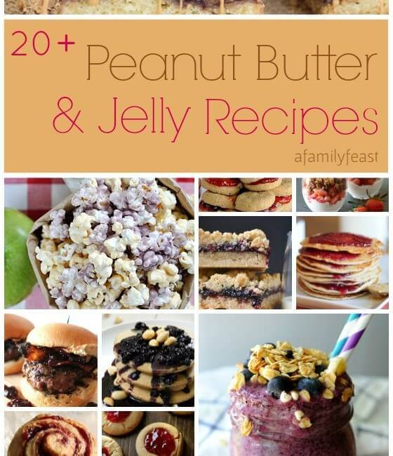 It's Peanut Butter Jelly Time… With Recipes!