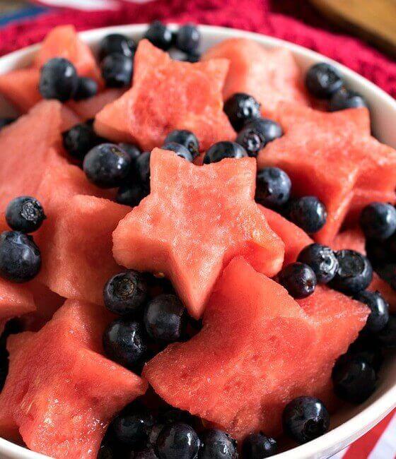 Star Spangled Fruit Salad