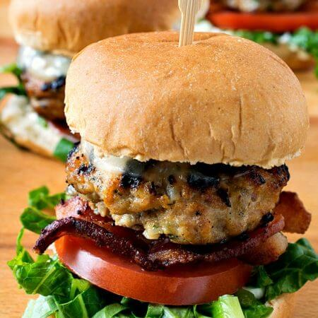 Stuffed Veal Sliders - A Family Feast
