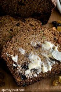 Whole Wheat Zucchini Bread - A Family Feast