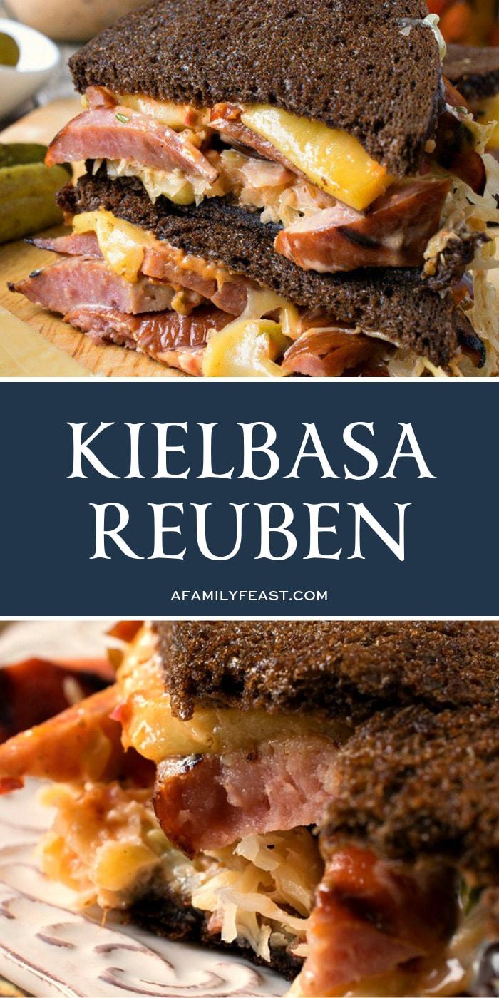 Kielbasa Reuben - A Family Feast
