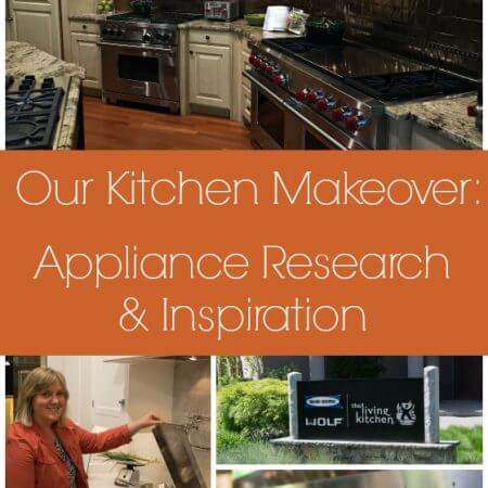 Our Kitchen Makeover: Appliance Research & Inspiration - A Family Feast