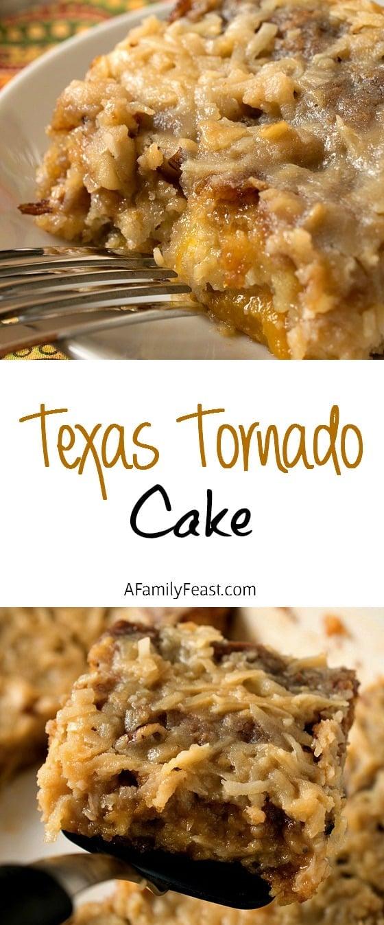 Texas Tornado Cake - A Family Feast