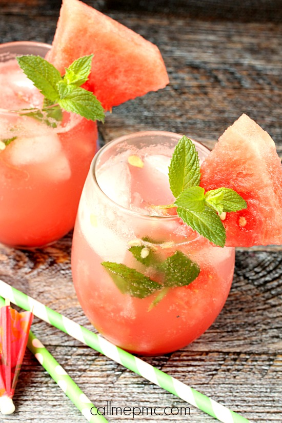 Watermelon Mojito - One of over 25 melon recipes in a collection on afamilyfeast.com
