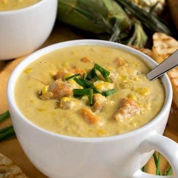 Sweet Corn Soup - A Family Feast