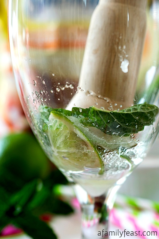 Watermelon Mint Aqua Fresca - A light, delicious and refreshing summertime beverage!