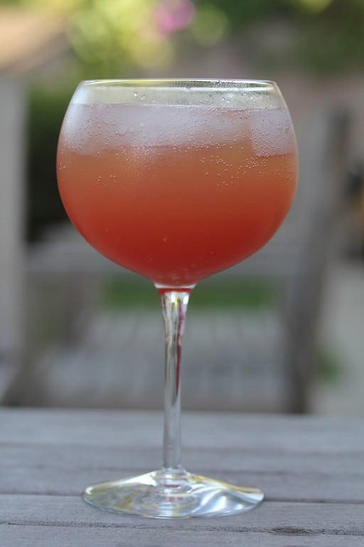 Watermelon Rum Cocktail