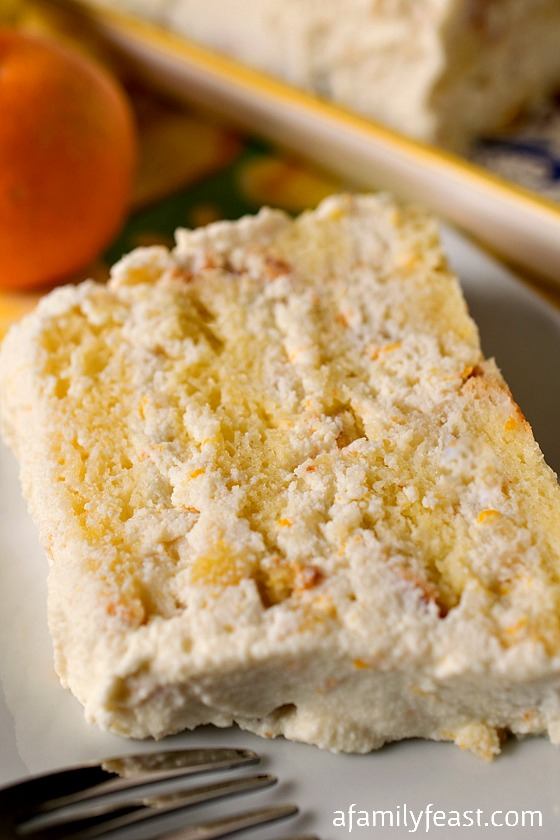 Cassata Ricotta (Sponge Cake with Ricotta) - A lighter version of the classic Italian dessert!  Simple to make and very delicious!