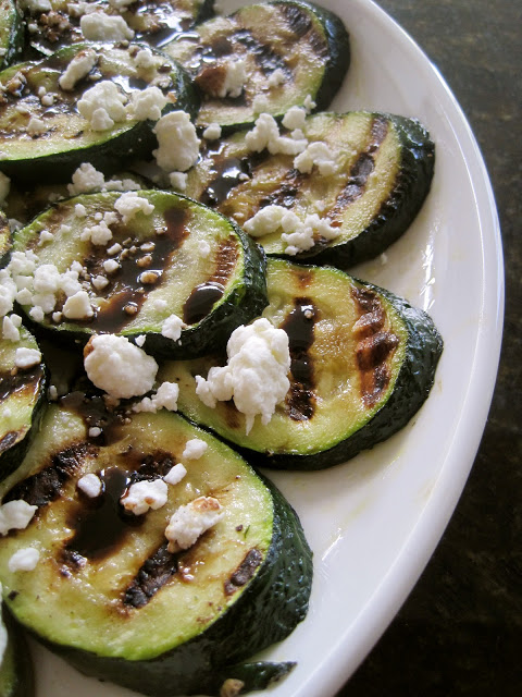 Grilled Zucchini - Over 30 delicious recipes to help you use up your bounty of garden zucchini. See the recipes on A Family Feast.