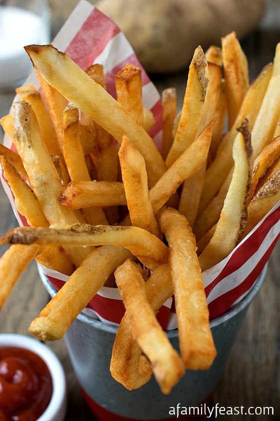 It's easy to make Perfect French Fries at home!  Our Sunday Cooking lesson gives you step-by-step instructions!