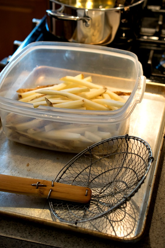 Sunday Cooking Lesson: Perfect French Fries - A Family Feast