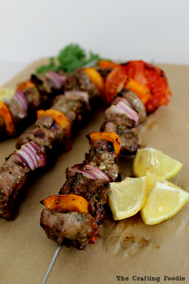 25 Sensational Skewer Recipes, including these Indian Spiced Lamb Kebabs