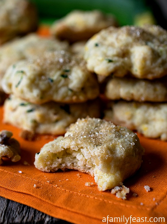 Orange Zucchini Cookies – Moist, sweet and delicious! You'd never guess these cookies have zucchini inside!