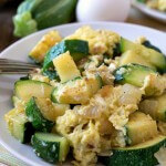 Zucchini and Eggs {Cocozelle}