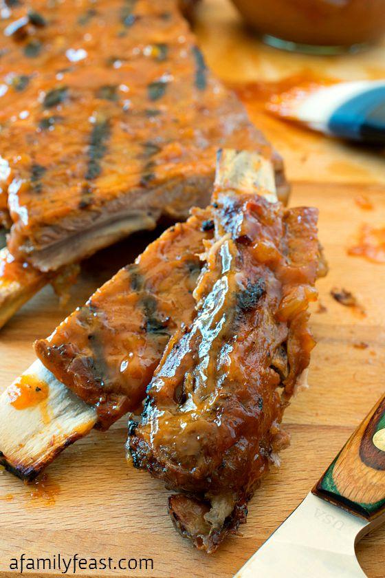 Barbecue Pork Ribs - A Family Feast