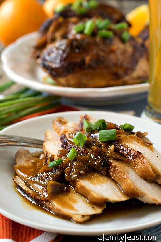 Blue Moon Chicken - A Family Feast