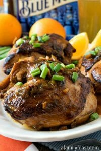 Blue Moon Chicken - A Family Feast