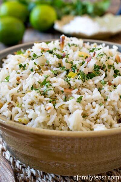 Coconut Rice - A Family Feast