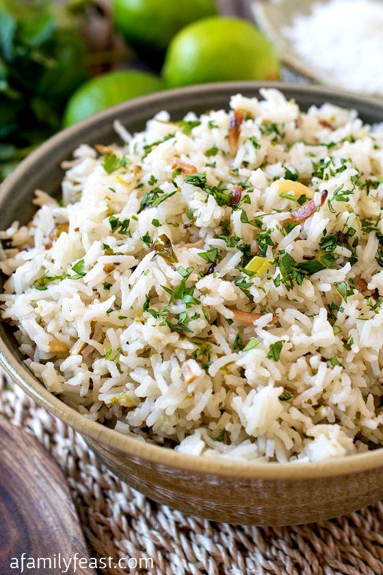 Coconut Rice - A Family Feast