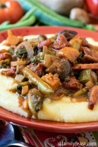 Garden Vegetable Ragout - A Family Feast
