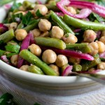 Chick Pea and Green Bean Salad