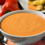 Roasted Red Pepper Dipping Sauce