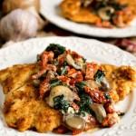 Chicken with Pignoli Crust