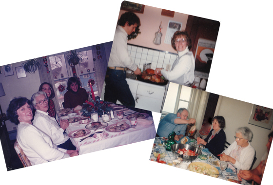 Our American Kitchen Memories - A Family Feast