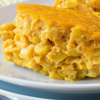 Pumpkin Corn Pudding - A Family Feast