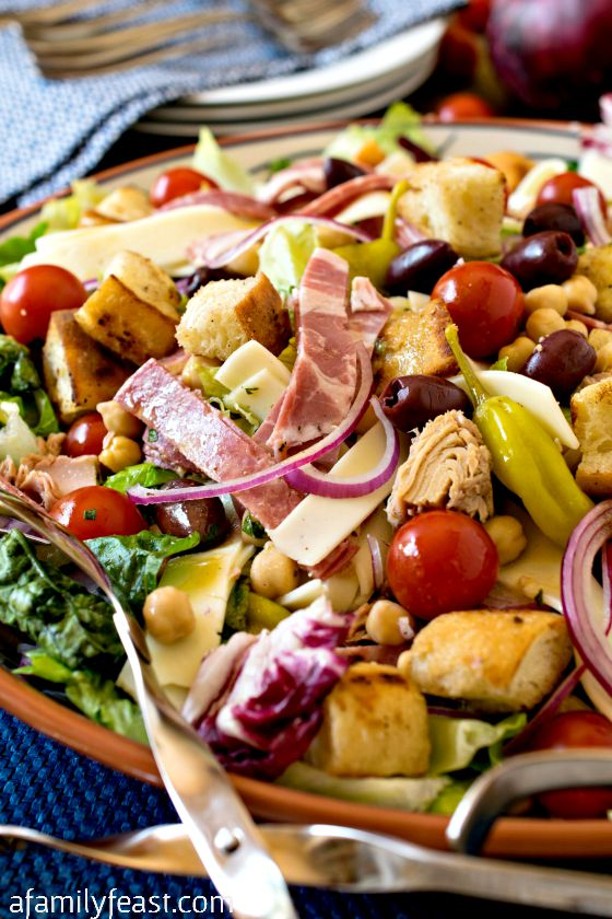 Antipasto Salad - A Family Feast
