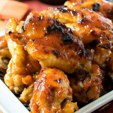 Barbecue Chicken Wings - A Family Feast