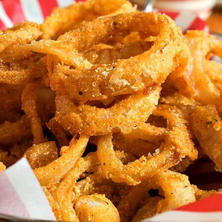 Onion Rings - A Family Feast