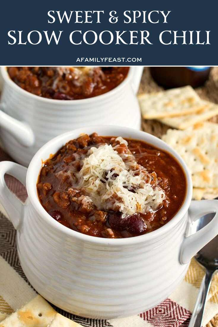 Glenn's Sweet and Spicy Slow Cooker Chili