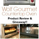 Wolf Gourmet Countertop Oven – Product Review & Giveaway {closed}