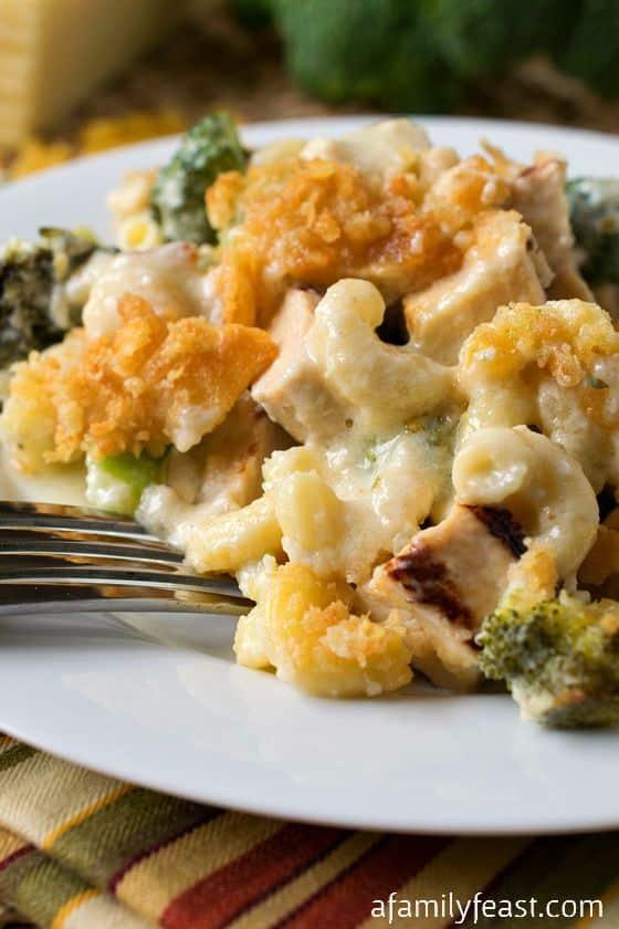 Chicken Broccoli Pasta Bake - A Family Feast
