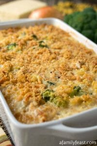 Chicken Broccoli Pasta Bake - A Family Feast