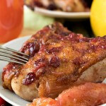 Ruby Red Grapefruit and Cranberry Chicken