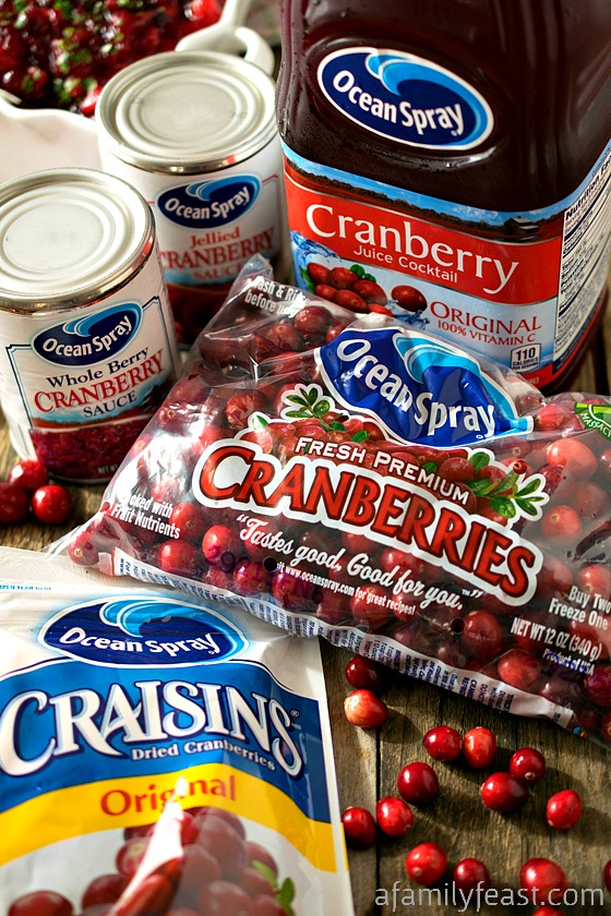 Fiesta Style Cranberry Sauce - A Family Feast