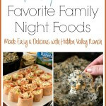 BLT Ranch Rollups & Baked Spinach and Chicken Dip (Favorite Family Night Foods)