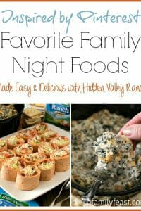 BLT Ranch Rollups & Baked Spinach and Chicken Dip (Favorite Family Night Foods) - A Family Feast
