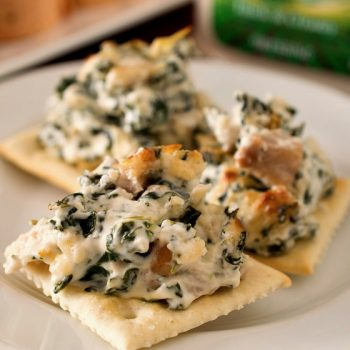 BLT Ranch Rollups & Baked Spinach and Chicken Dip (Family Night Appetizers) - A Family Feast