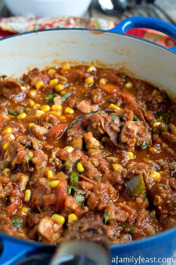 Italian Chili - A Family Feast